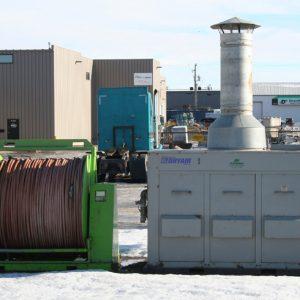 Large Dry Air Temprary Heat Boilers - #1
