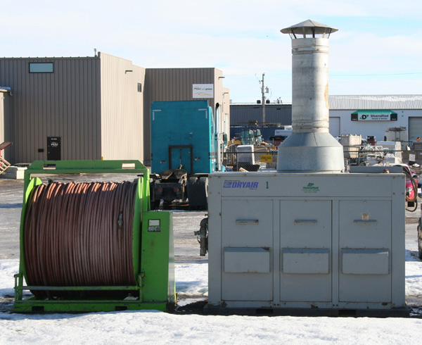 Large Dry Air Temporary Heat Boilers | Diversified Electric