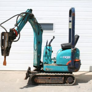Kubota Mini Excavator Hydraulic Jack Hammer - #1