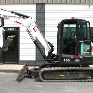 Mini Bobcat Excavator Frost Hook - #1