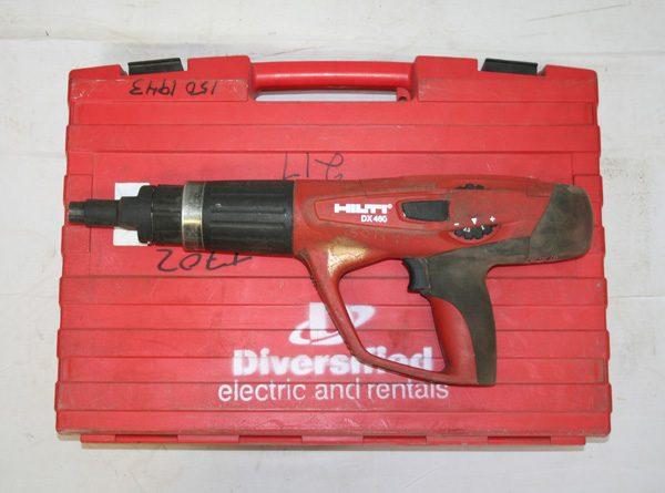 Powder Actuated Hilti Gun